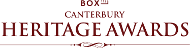 2016 Entries Now Open - Canterbury Heritage Awards